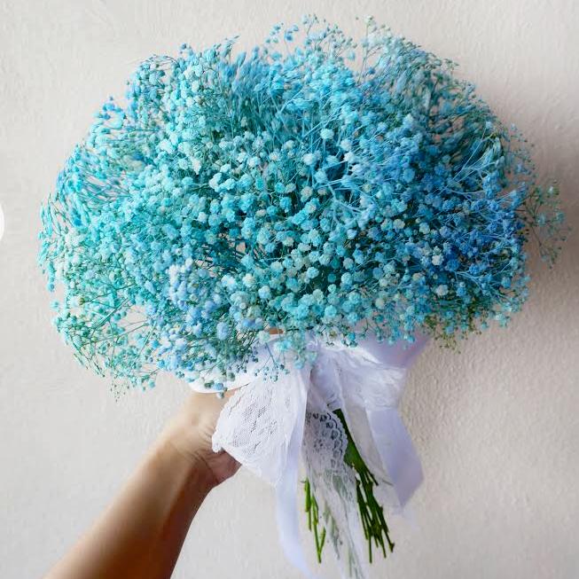 Bridal Bouquet - Baby Breath (L)