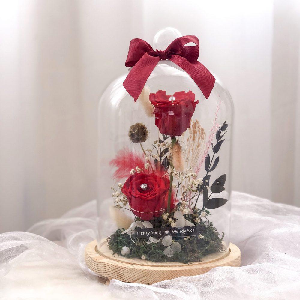 Flower Bell Jar