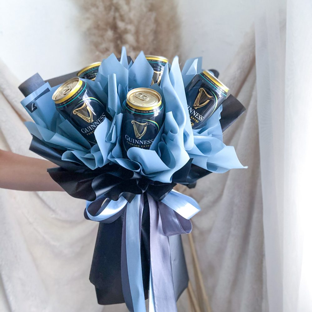 Guiness Beer Bouquet - 5 cans