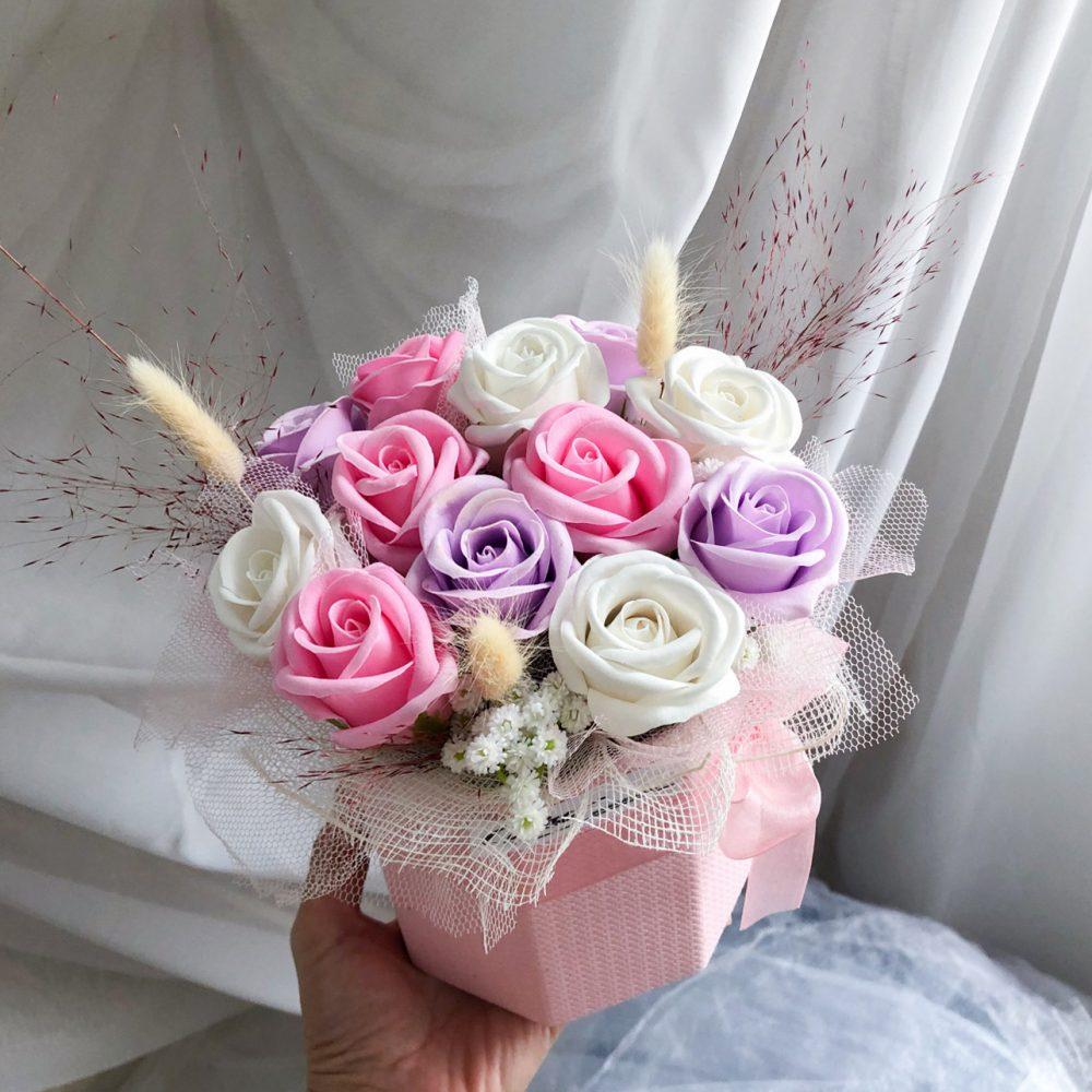 Mini Soap Flower Box