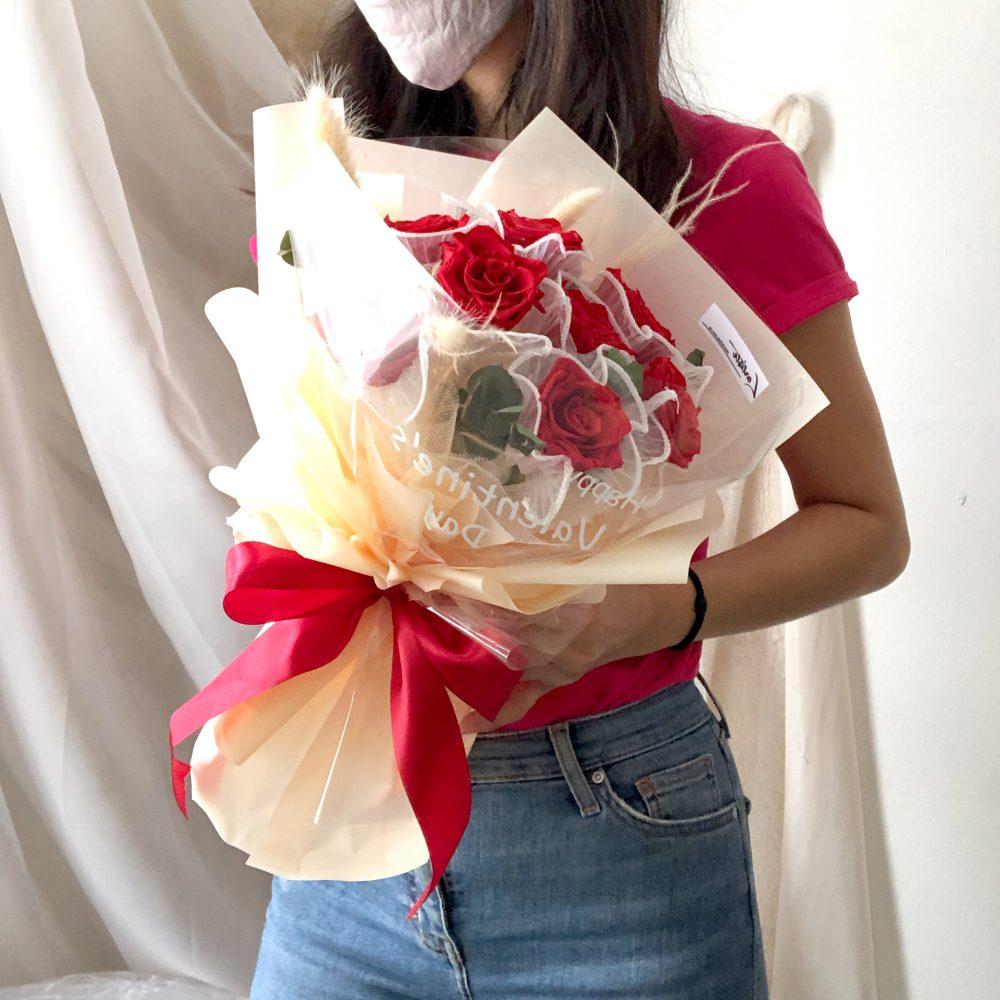 premium preserved rose bouquet