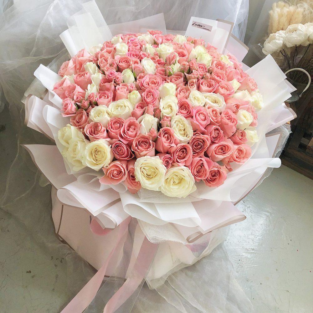 108 Roses Bouquet