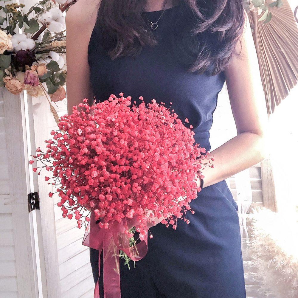 Bridal Bouquet - Baby Breath (S)