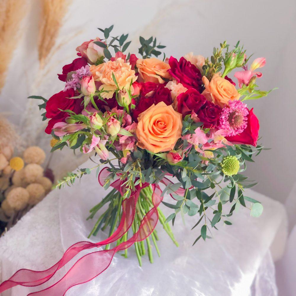 Bridal Bouquet - Premium Mix Flowers