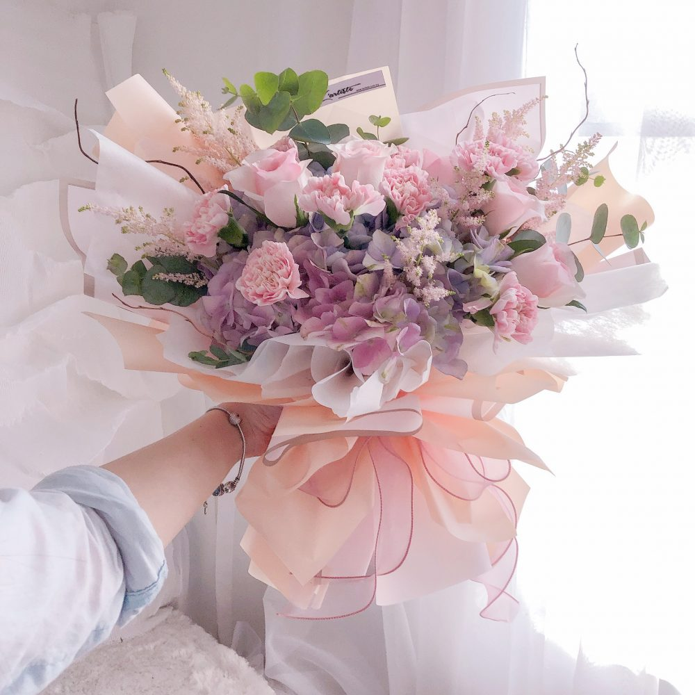 mix with love bouquet 01