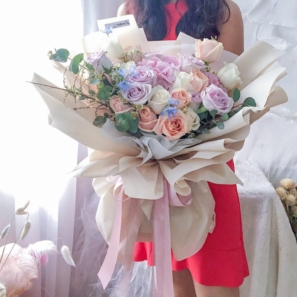 mix with love bouquet 08