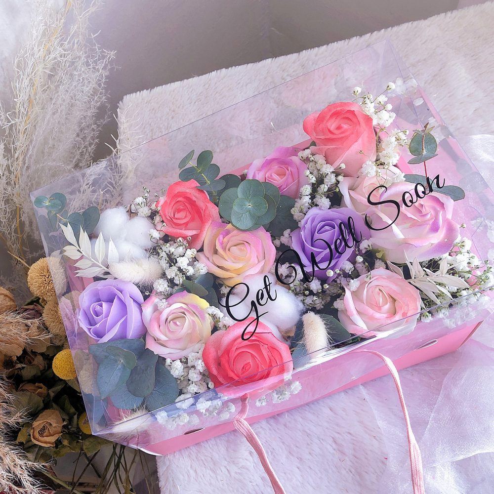 Soap Flower Box