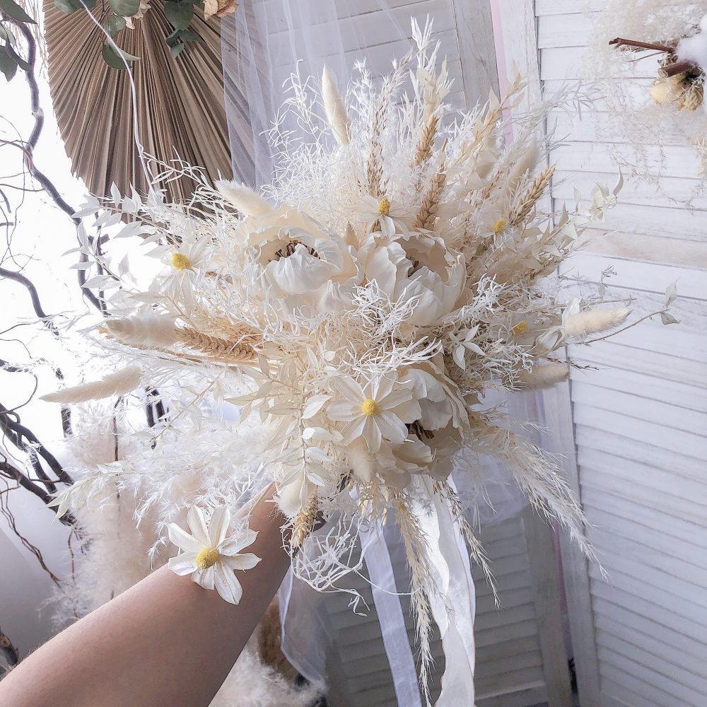 Bridal Bouquet - Preserved & Dried Flowers