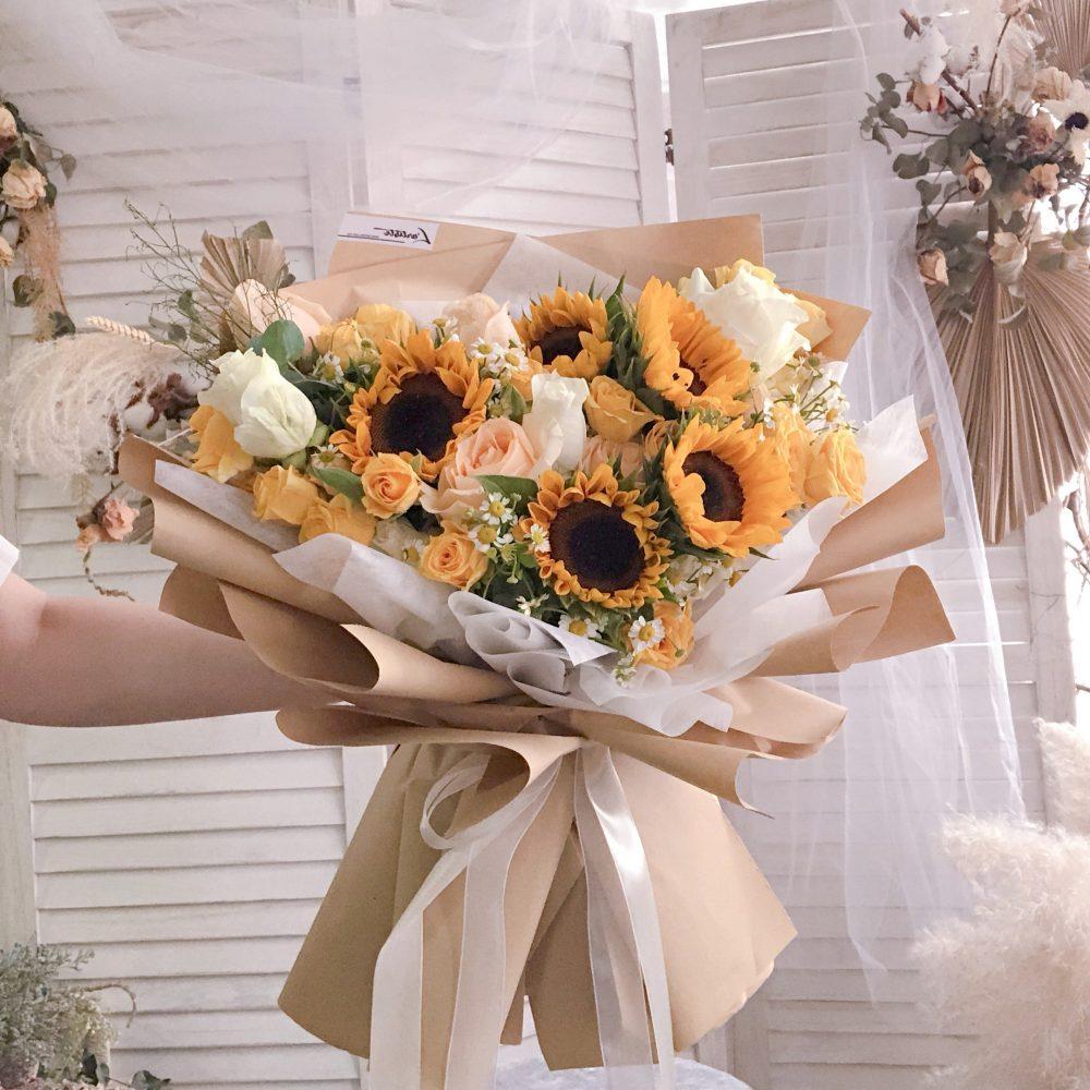 Sunflower Bouquet 06 - L size