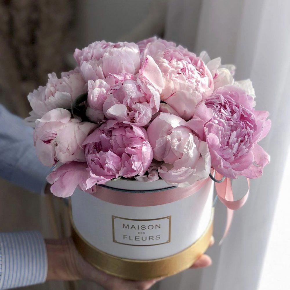 Peonies Flower Box