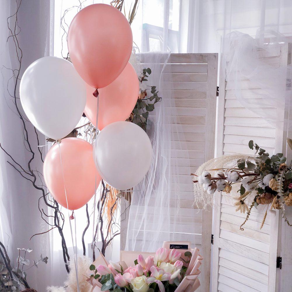 Helium Balloon 5pcs - 12 Inches
