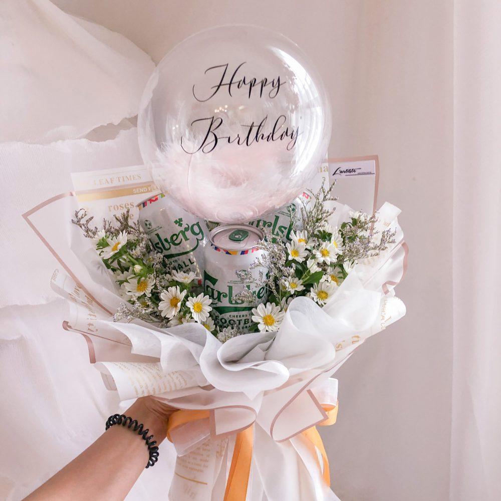 Carlsberg Beer & Balloon Bouquet